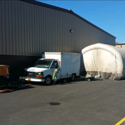 Truck and Containment Tent